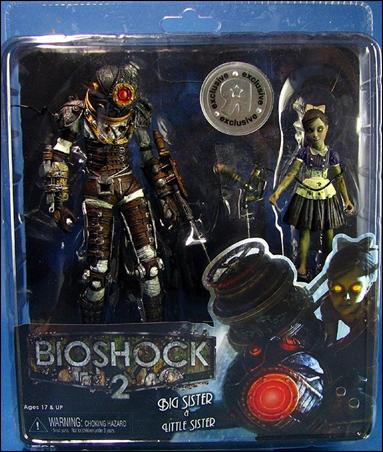 BioShock 2 (2-Packs) Big Sister & Little Sister by NECA