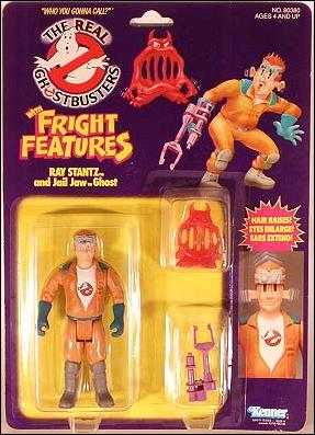 Real Ghostbusters: Fright Features Ray Stantz and Jail Jaw Ghost by Kenner