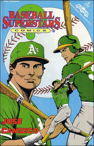 Baseball Superstars Comics 6-A by Revolutionary