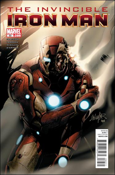 Invincible Iron Man (2008) 33-A by Marvel