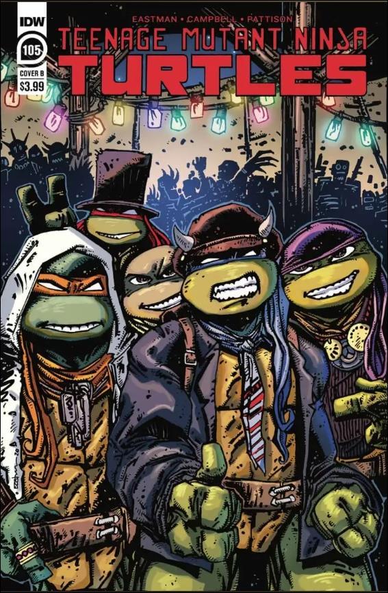 Teenage Mutant Ninja Turtles (2011) 105-B by IDW