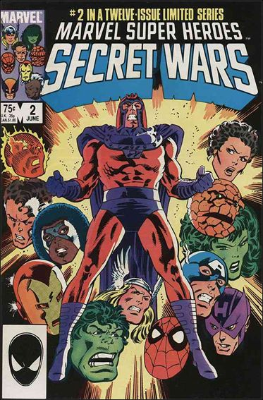 Marvel Super Heroes Secret Wars 2-A by Marvel