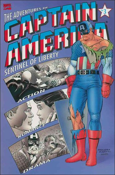 Adventures of Captain America - Sentinel of Liberty 3-A by Marvel