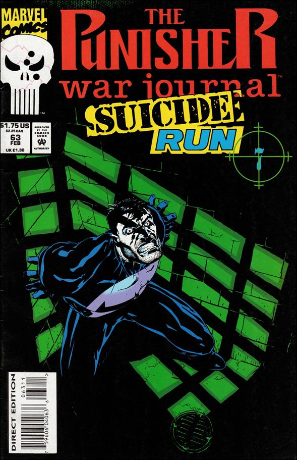 Punisher War Journal (1988) 63-A by Marvel