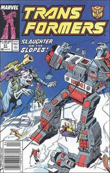 Transformers (1984) 51-A by Marvel