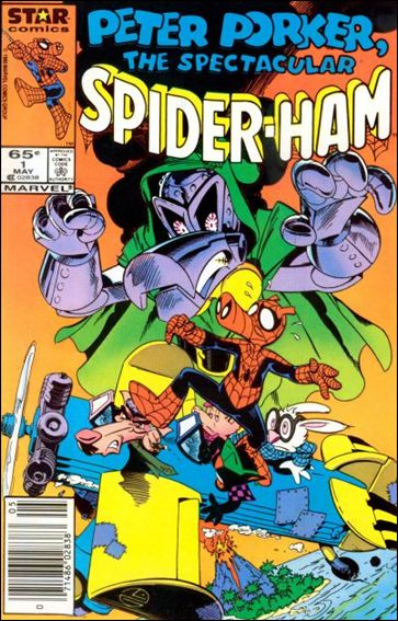 Peter Porker, The Spectacular Spider-Ham 1-A by Star