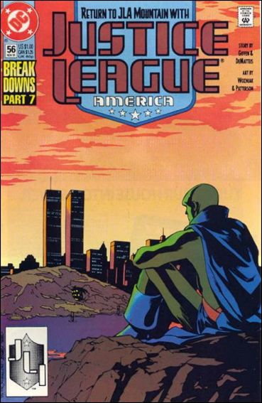 Justice League America 56-A by DC