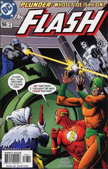 Flash (1987) 166-A by DC