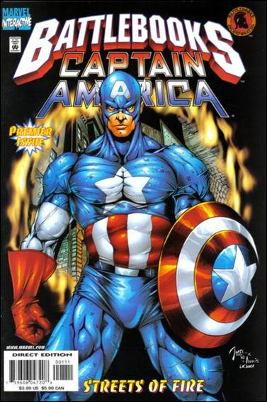 Captain America Battlebook: Streets of Fire 1-A by Marvel