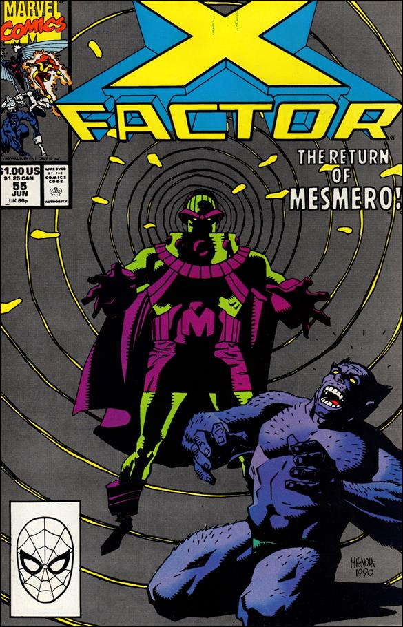 X-Factor (1986) 55-A by Marvel