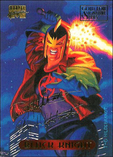 1994 Marvel Masterpieces (Gold-Foil Signature Parallel Base Set) 7-A by Fleer