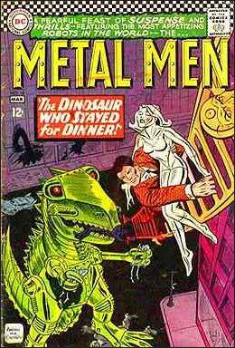 Metal Men (1963) 18-A by DC