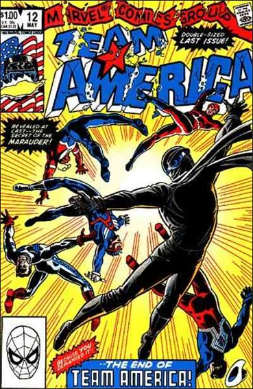 Team America 12-A by Marvel