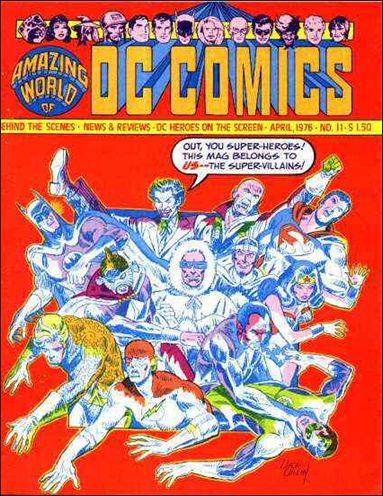 Amazing World of DC Comics 11-A by DC