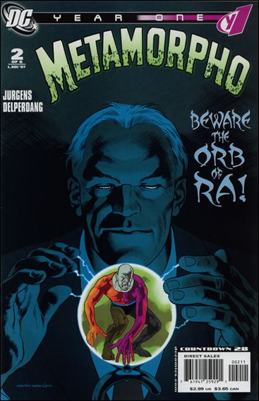 Metamorpho: Year One 2-A by DC