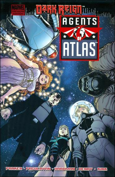 Agents of Atlas: Dark Reign 1-A by Marvel