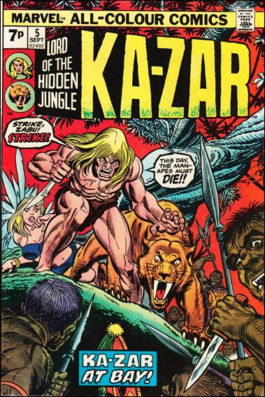 Ka-Zar (1974) 5-B by Marvel