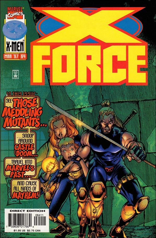 X-Force (1991) 64-A by Marvel