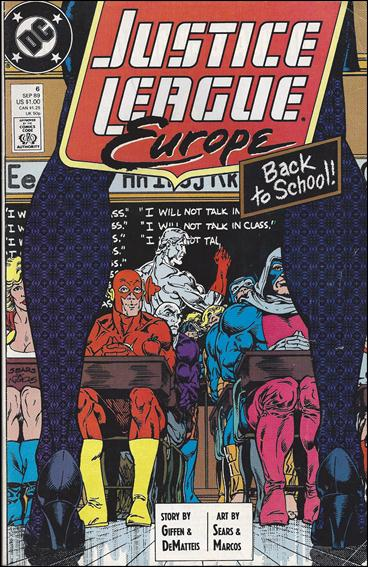 Justice League Europe 6-B by DC