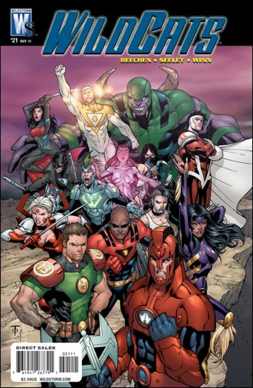 Wildcats (2008) 21-A by WildStorm