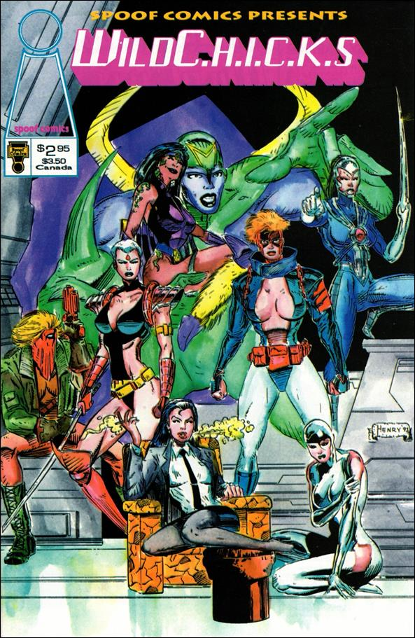Spoof Comics Presents WildC.H.I.C.K.s 1-A by Spoof