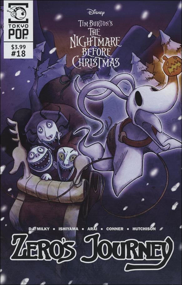 Disney Tim Burton's Nightmare Before Christmas: Zero's Journey 18-A by Tokyopop