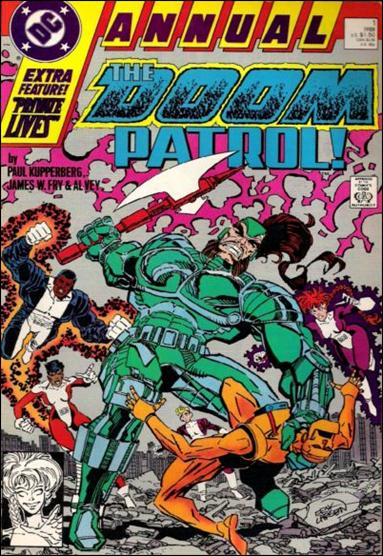 Doom Patrol Annual 1-A by DC
