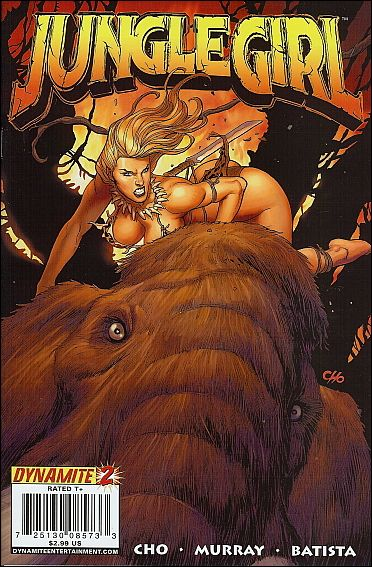 Jungle Girl (2007) 2-A by Dynamite Entertainment