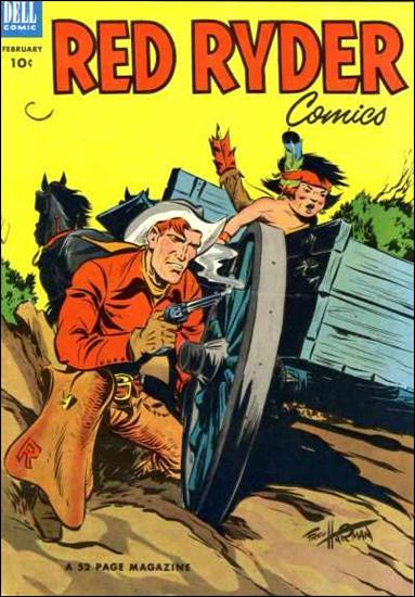 Red Ryder Comics 115-A by Dell