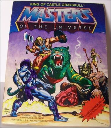 Masters of the Universe (1981) 1.4-B by Mattel