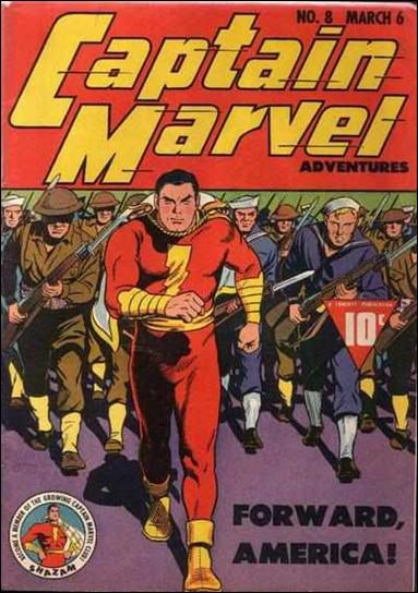 Captain Marvel Adventures 8-A by Fawcett