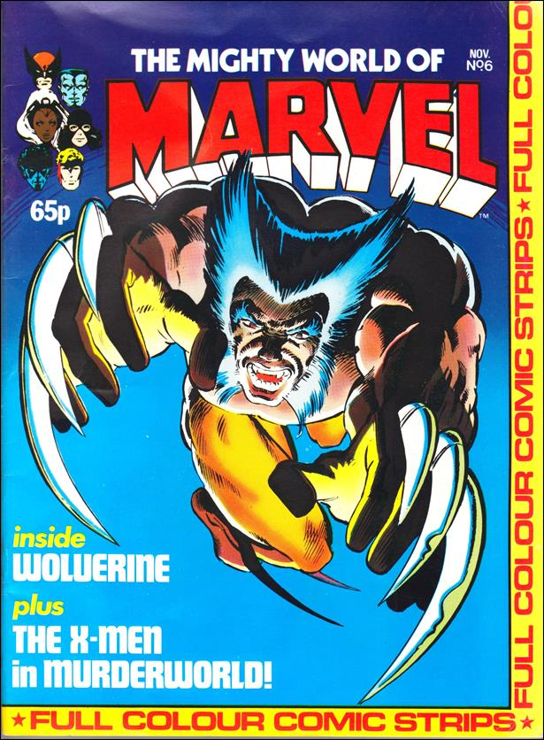 Mighty World of Marvel (UK) (1983) 6-A by Marvel UK