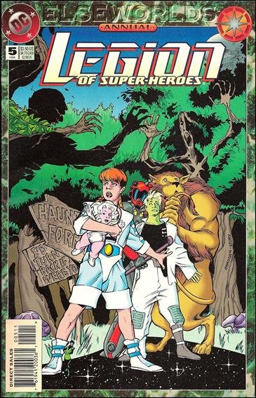 Legion of Super-Heroes Annual 5'-A by DC