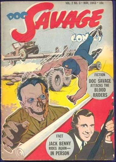 Doc Savage Comics (1943) 3-A by Street and Smith Publications