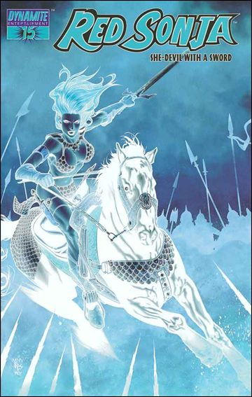 Red Sonja (2005) 15-F by Dynamite Entertainment