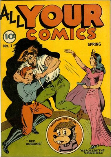 All Your Comics (1946) 1-A by Fox