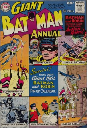 Batman Annual (1961) 2-A