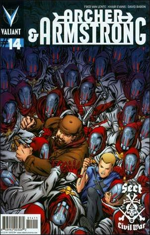 Archer & Armstrong (2012) 14-A by Valiant Entertainment