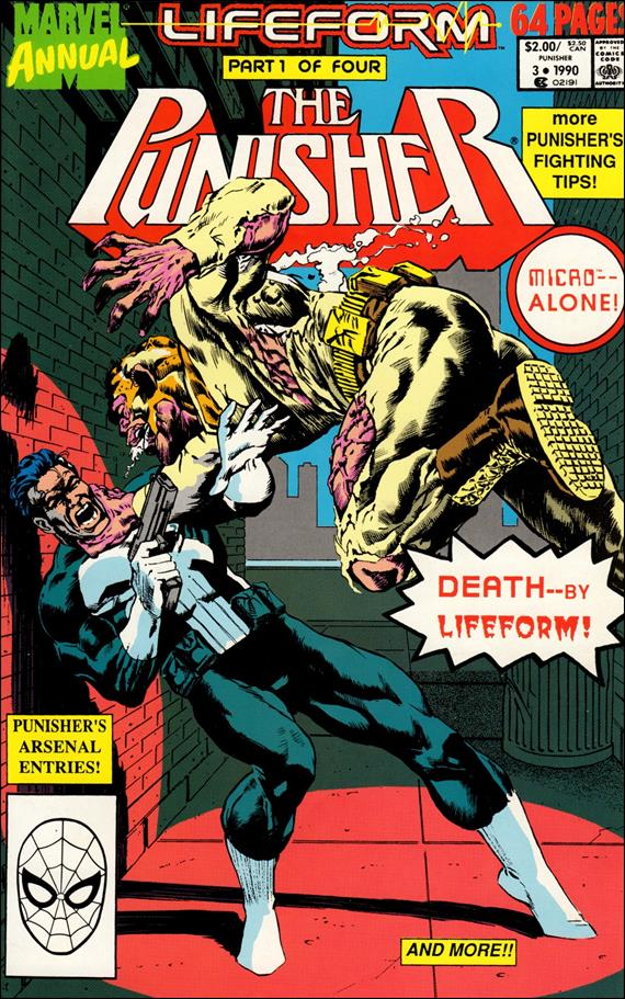Punisher Annual 3-A by Marvel