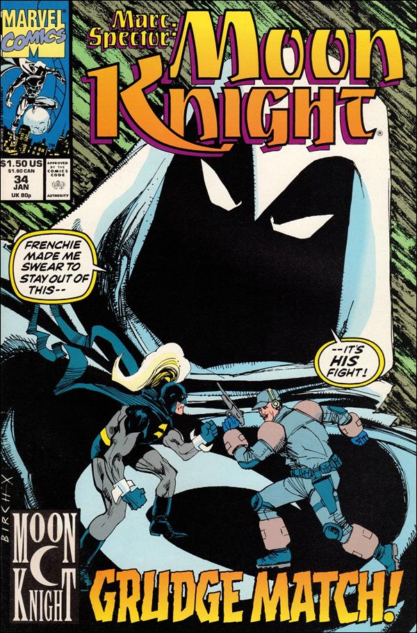 Marc Spector: Moon Knight 34-A by Marvel