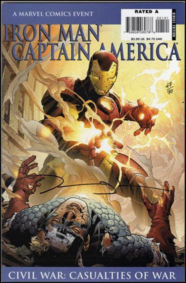 Iron Man/Captain America: Casualties of War 1-C by Marvel
