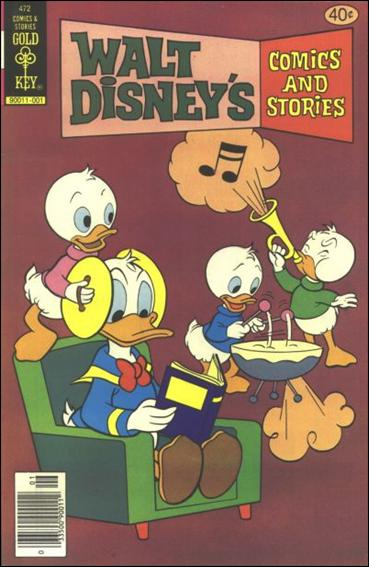 Walt Disney's Comics and Stories (1940) 472-A by Dell