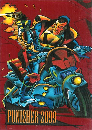 Marvel Universe: Series 4 (2099 Red Foil-Stamped Subset) 6-A by SkyBox