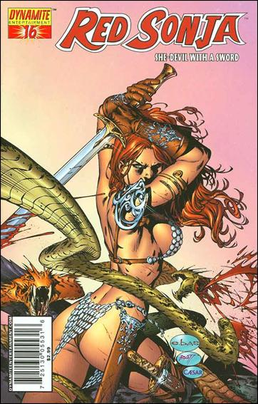 Red Sonja (2005) 16-A by Dynamite Entertainment