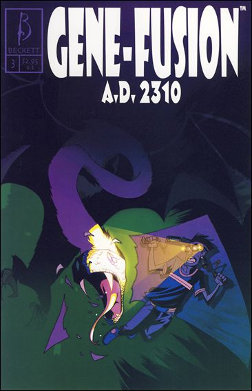 Gene-Fusion A.D. 2310 3-A by Beckett Comics