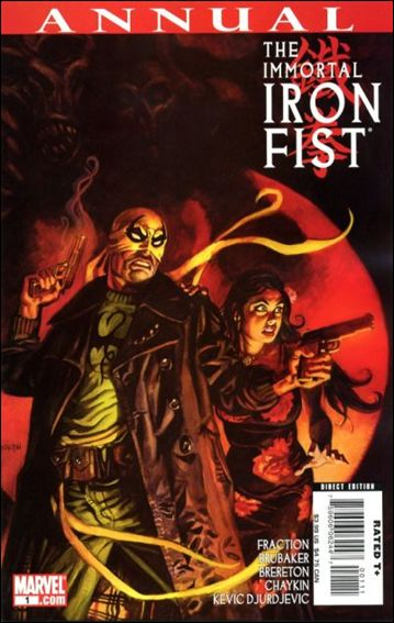 Immortal Iron Fist Annual 1-A by Marvel