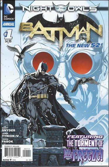 Batman Annual (2012) 1-A by DC