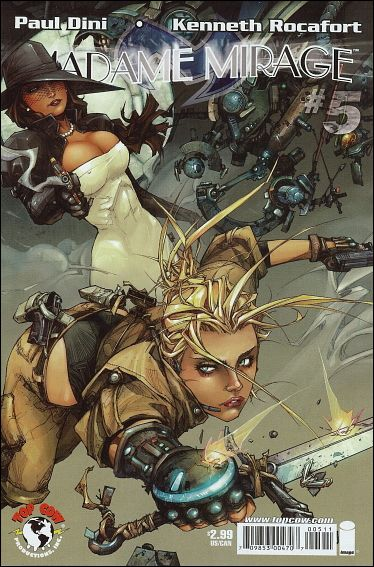 Madame Mirage 5-A by Top Cow