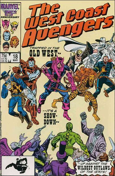West Coast Avengers (1985) 18-A by Marvel