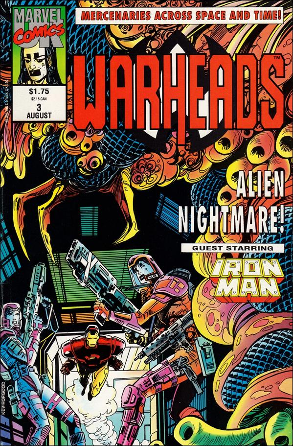 Warheads (UK) 3-A by Marvel UK